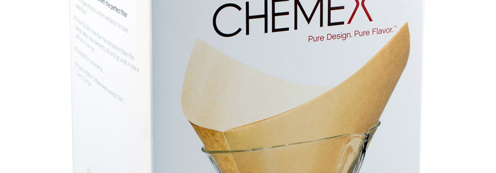 Chemex Filters Natural Squares (6-8 cups)