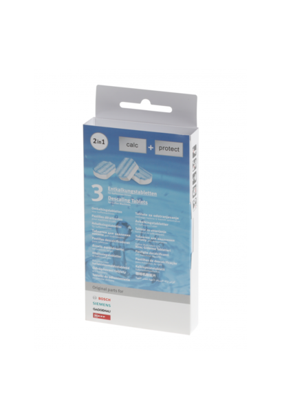 Bosch 2in1 ontkalkingstabletten (3 stuks)