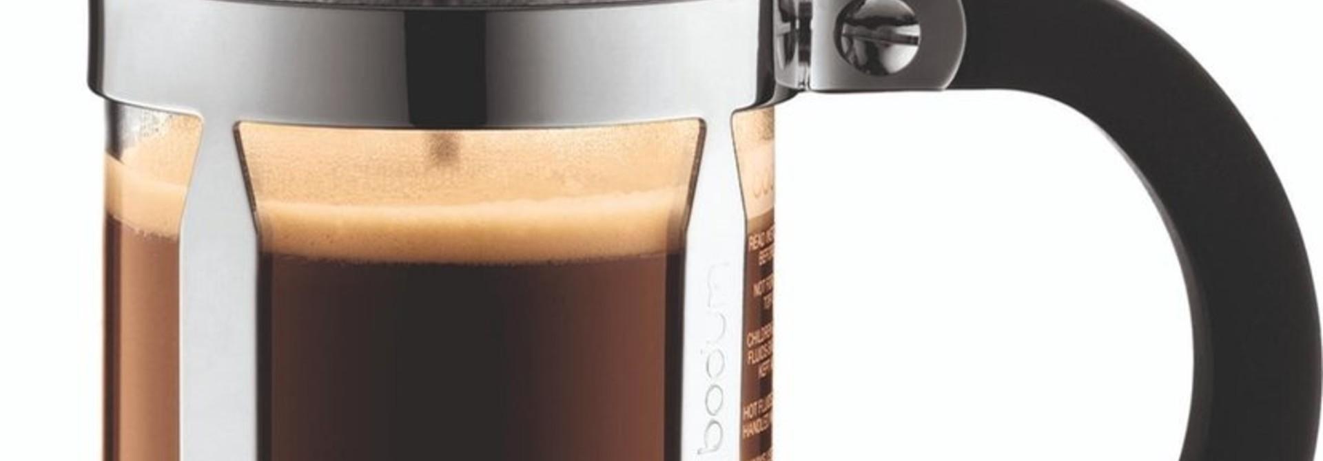 Bodum Chambord French Press Cafetière - Borocilicate glas - 0.35 l - 3 kops