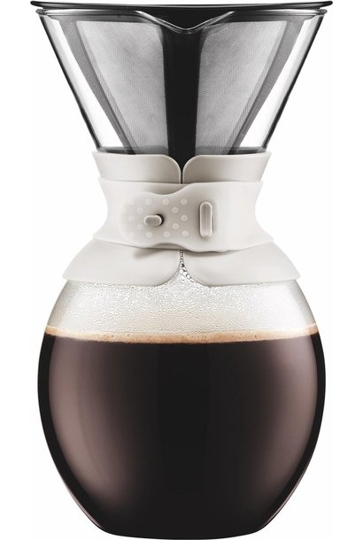 Bodum POUR OVER Filterkoffiezetapparaat 1.5l Wit