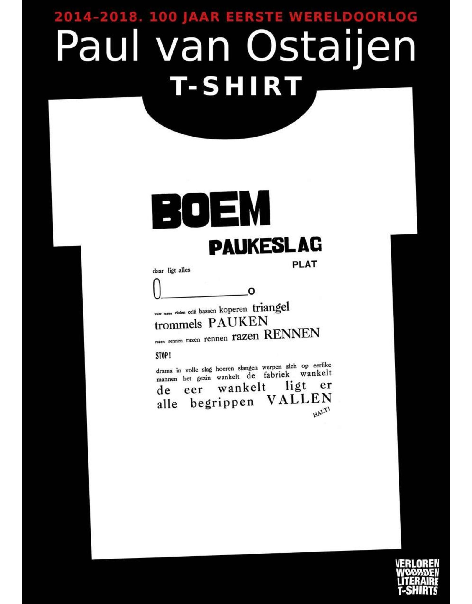 Paul van Ostaijen BOEM Paukeslag ♂ (black)