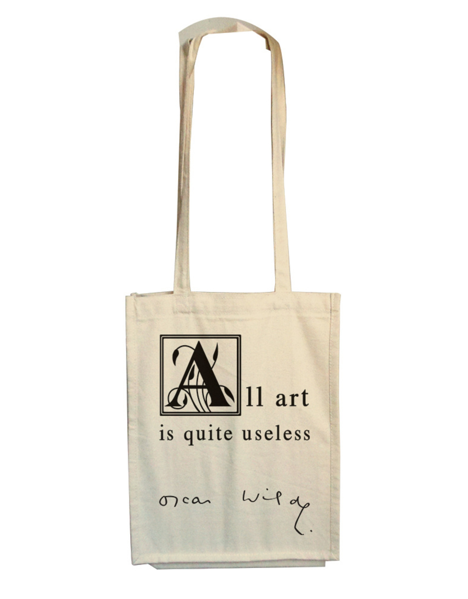 Oscar Wilde - All Art is quite useless-Tas