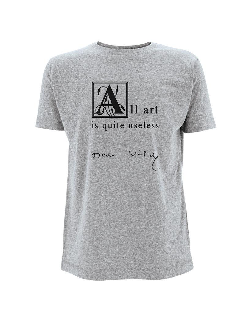 Oscar Wilde All art is quite useless ♂