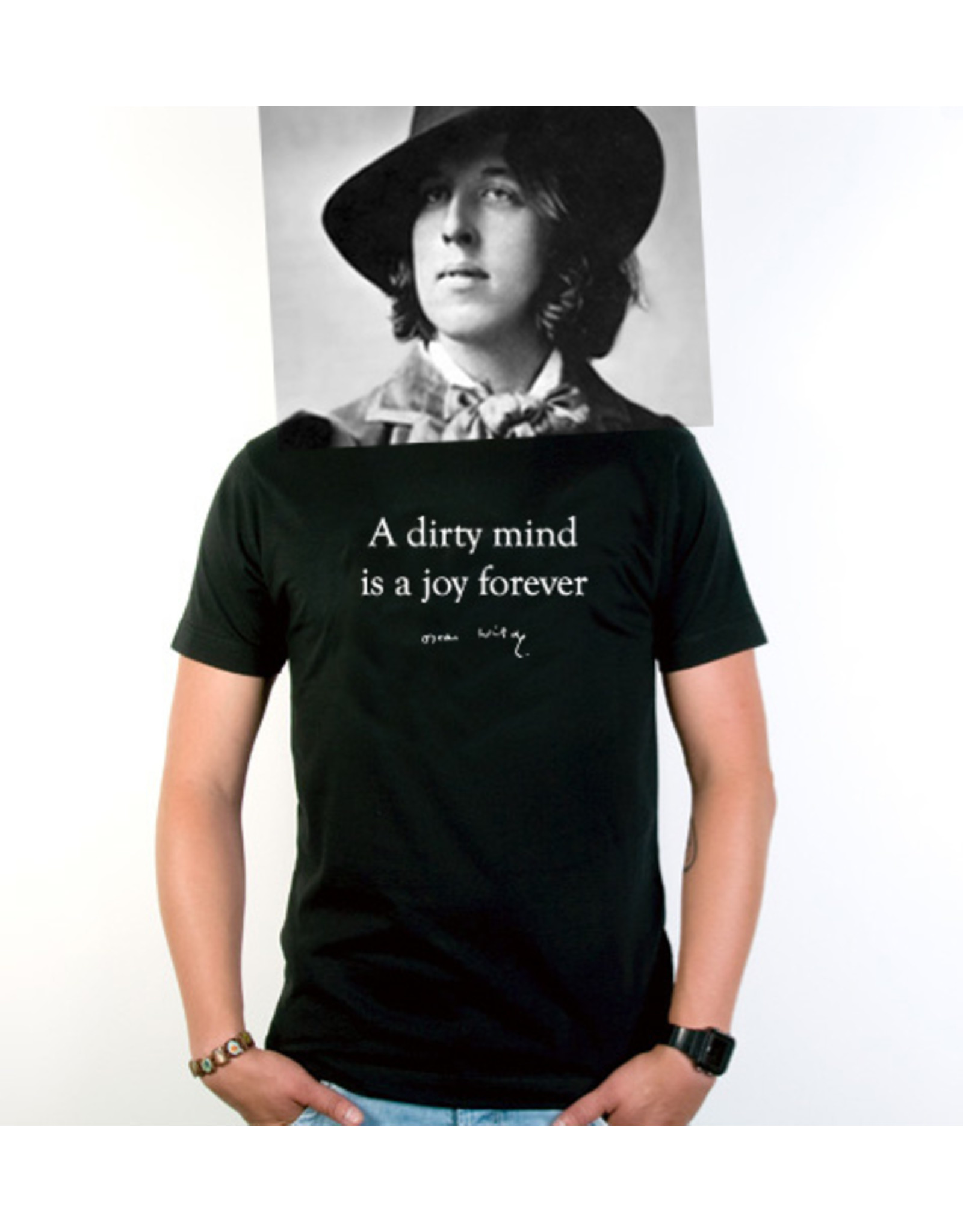 Oscar Wilde A dirty mind is a joy forever ♂