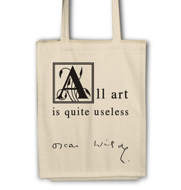 Oscar Wilde - All Art is quite useless-Tas