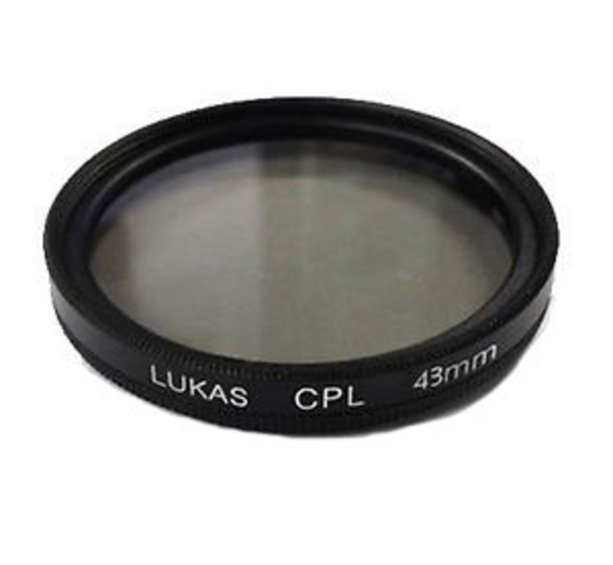 LUKAS/Qvia 43mm CPL filter