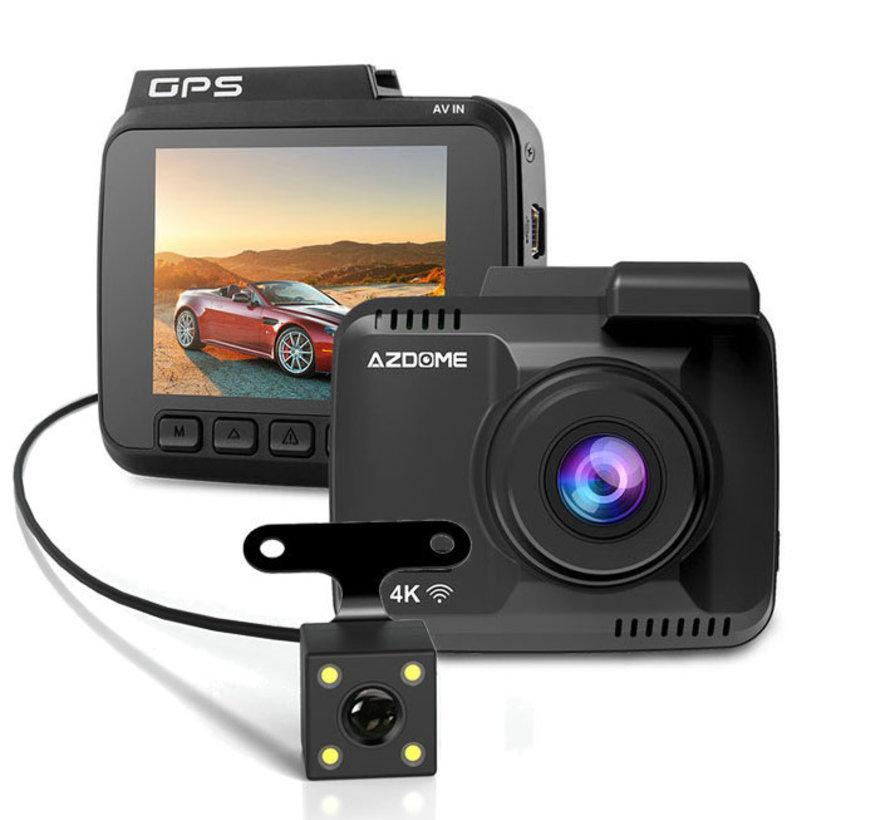 AZDome GS63H 4K 2CH Dual Wifi GPS dashcam