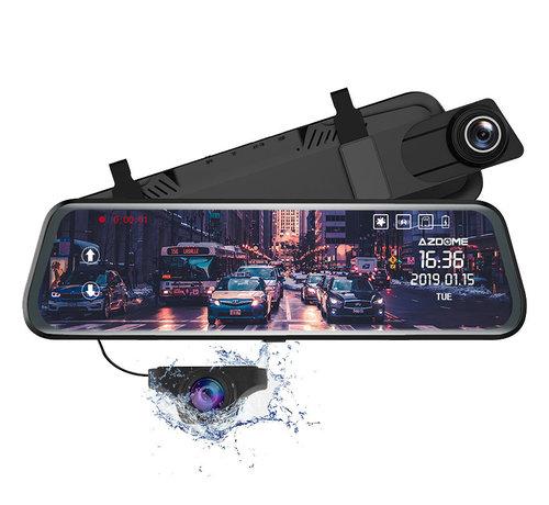AZDome AZDome PG02 2CH Full Mirror GPS Touch 32gb dashcam