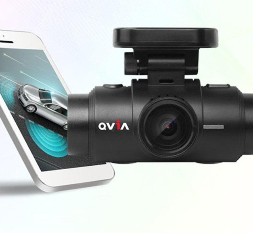 Qvia QR790 WD 2CH Dual Wifi GPS 16gb dashcam