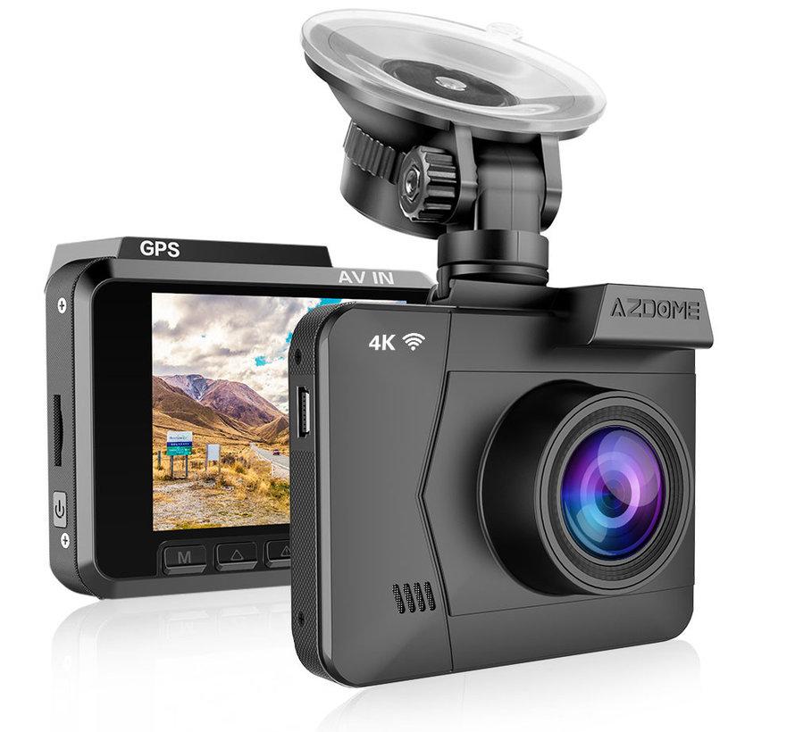 AZDome M06P True 4K Wifi GPS dashcam