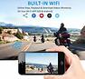 Motocam E6L 2CH Dual Wifi motor dashcam