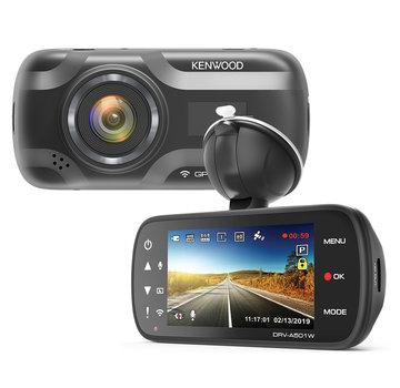 KENWOOD KENWOOD DRV-A501W 16gb Wifi GPS Quad HD dashcam