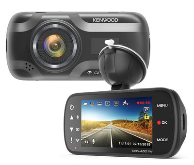 KENWOOD KENWOOD DRV-A501W 16gb Wifi GPS Quad HD dashcam