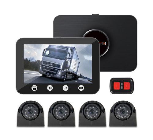 Motocam Motocam C4.3 4CH VGA vrachtwagen dashcam