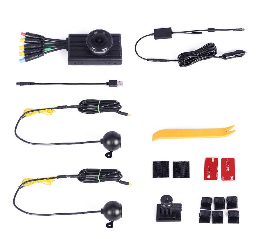 Motocam X2V 3CH FullHD vrachtwagen dashcam