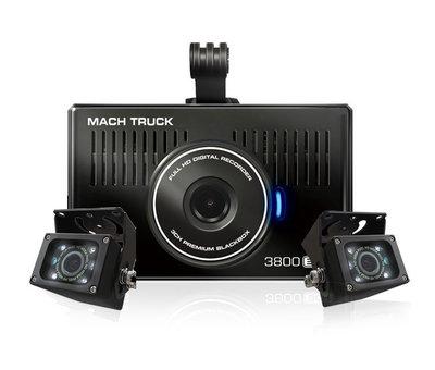 MACH Truck MACH Truck 3800 3CH FullHD 32gb vrachtwagen dashcam