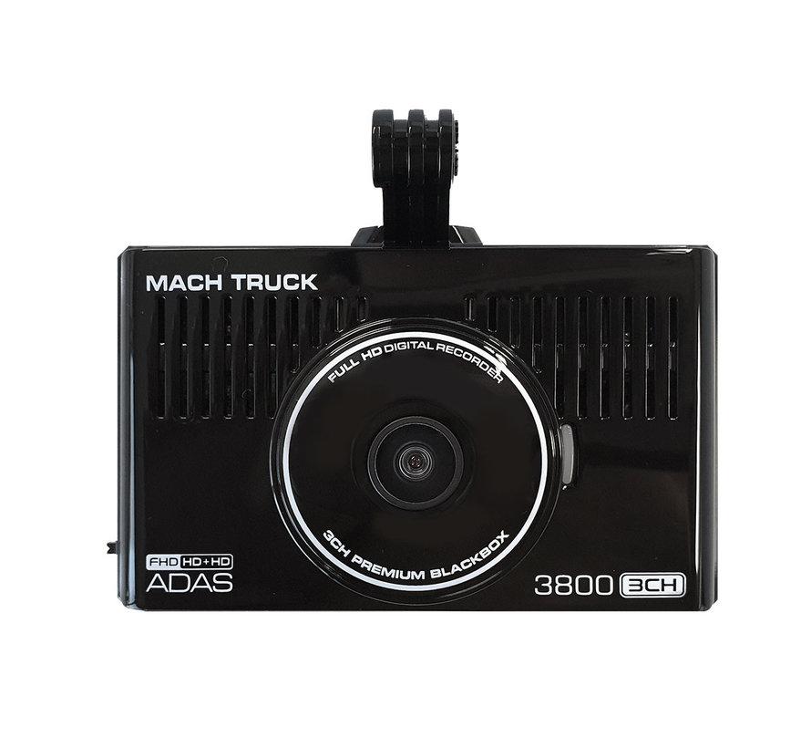 MACH Truck 3800 3CH FullHD 32gb vrachtwagen dashcam