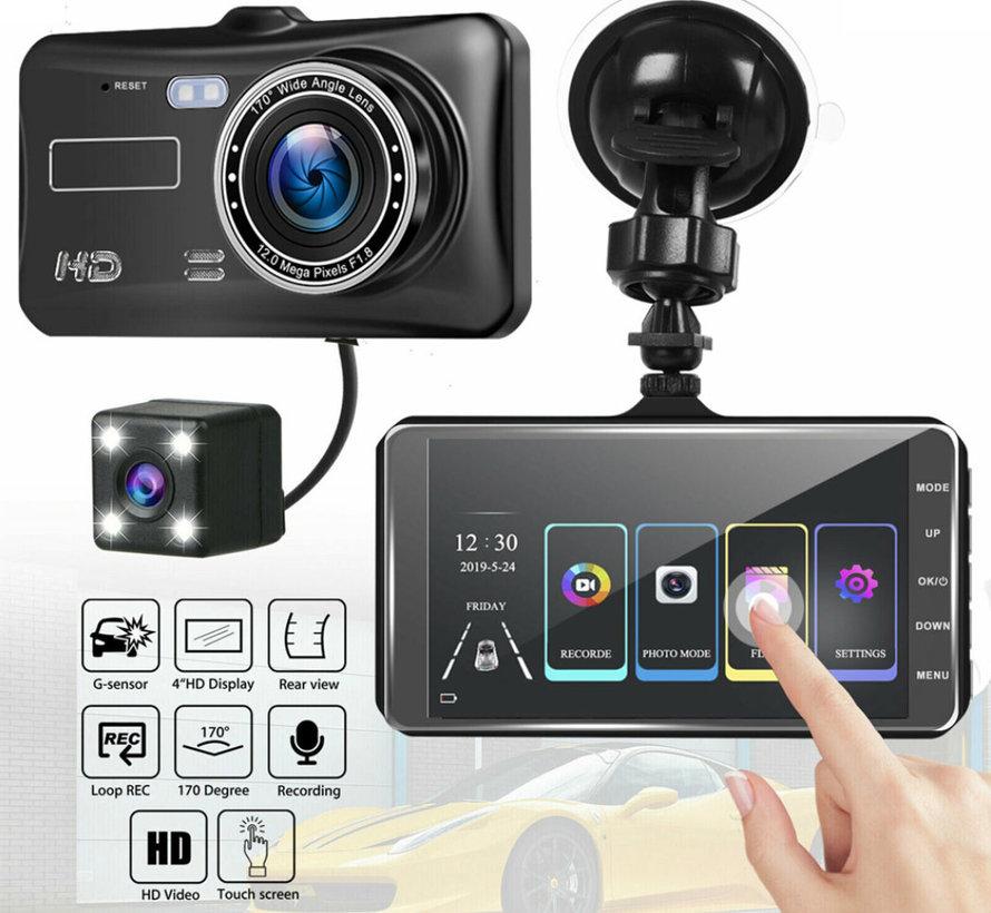 Allcam Y950T Touch 2CH Dual 4.0 inch FullHD dashcam