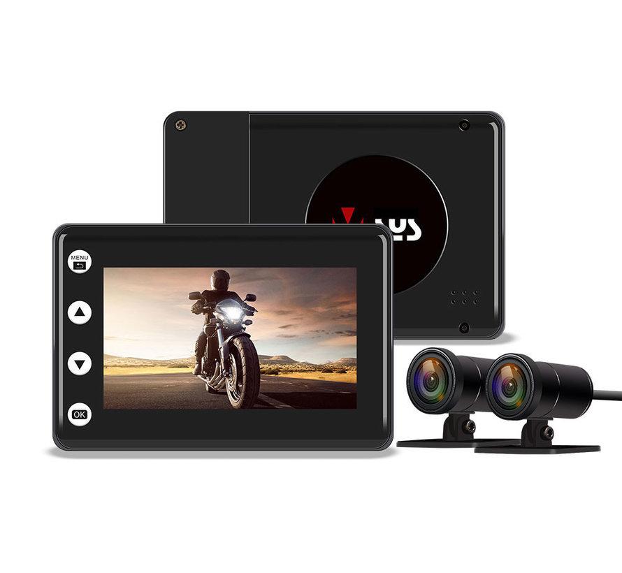 Motocam A2X Wifi 2CH dual motor dashcam