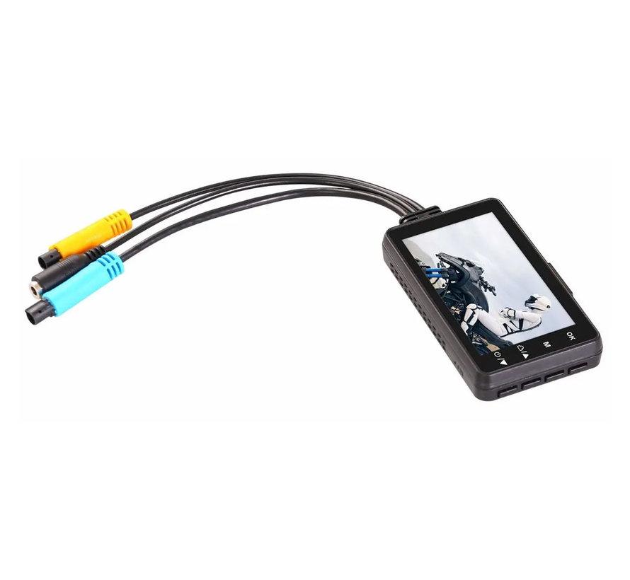 ThiEye Moto One 2CH Dual FullHD Motor dashcam