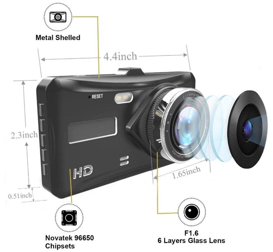 X209 WDR 2CH Dual FullHD 1080p dashcam