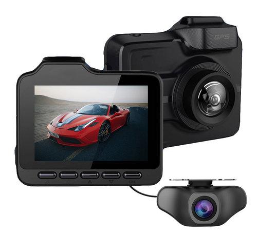 Allcam GT85 4K Ultra HD 2CH Dual Wifi GPS dashcam