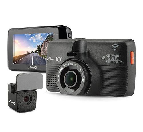 Mio Mio MiVue 798 Dual 2CH Wifi GPS Wide QHD dashcam