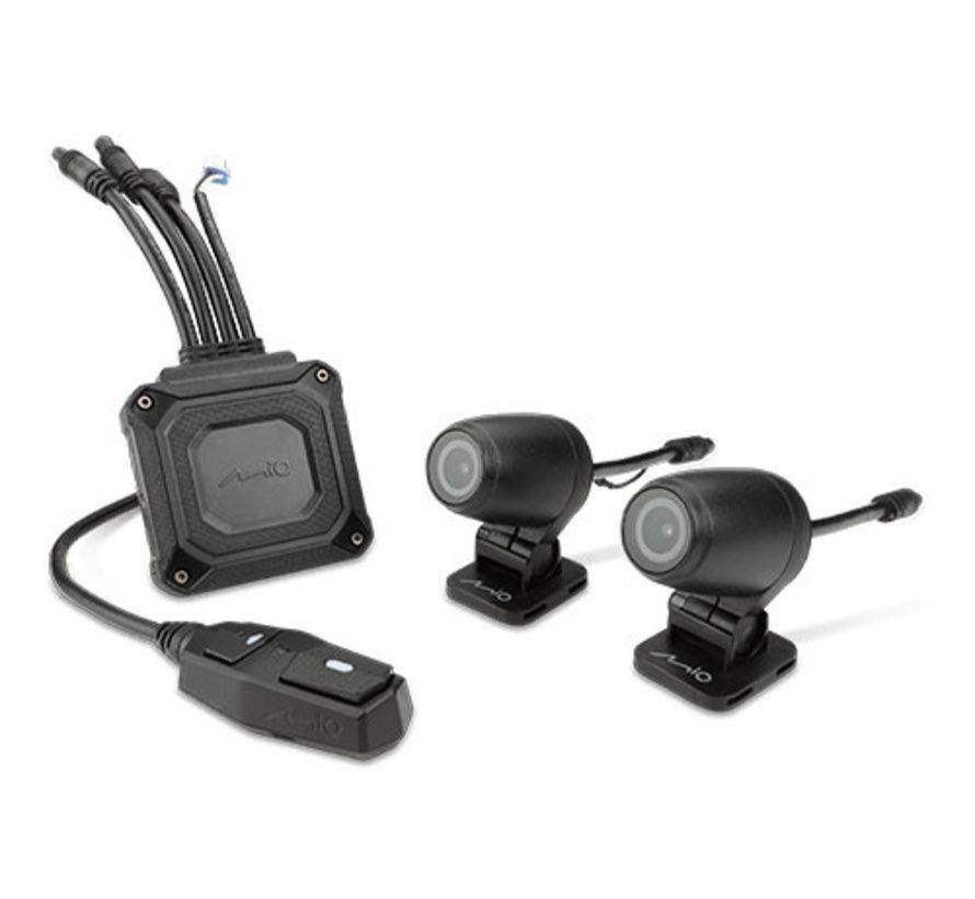 Mio MiVue M760D 2CH Dual Wifi GPS 32gb motor dashcam