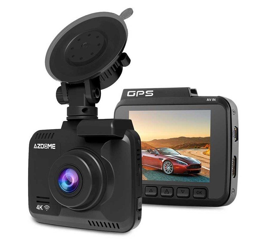 AZDome GS63H 4K 1CH dashcam - Continue voeding - 128gb