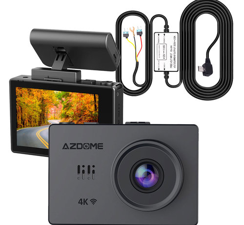 AZDome AZDome M10 Pro dashcam - Continue voeding