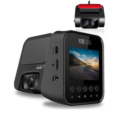 Allcam T810 4K Ultra HD 2CH Dual Wifi GPS dashcam