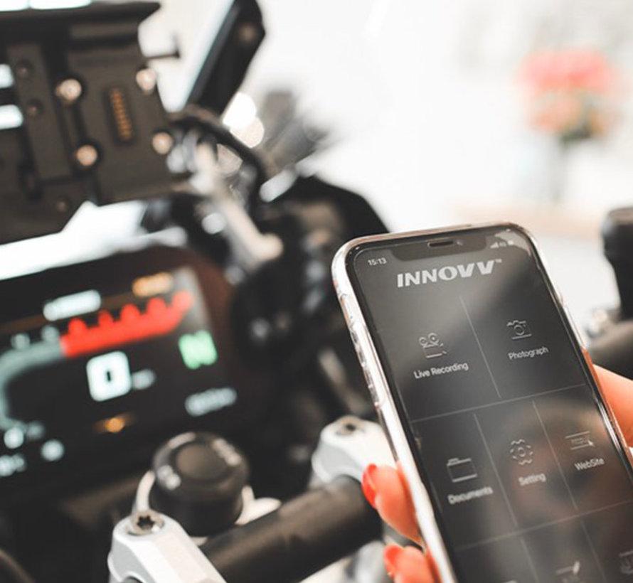 Innovv K2 2CH Dual Wifi GPS motor dashcam