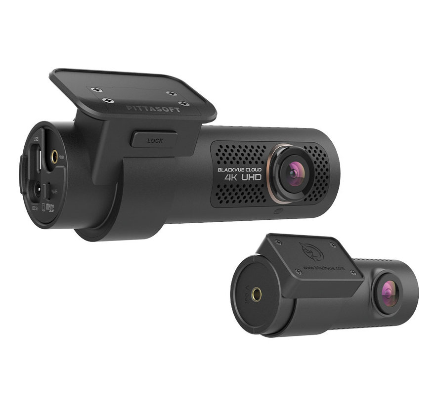 BlackVue DR900X-2CH Dual 4K 32gb Cloud Wifi GPS dashcam