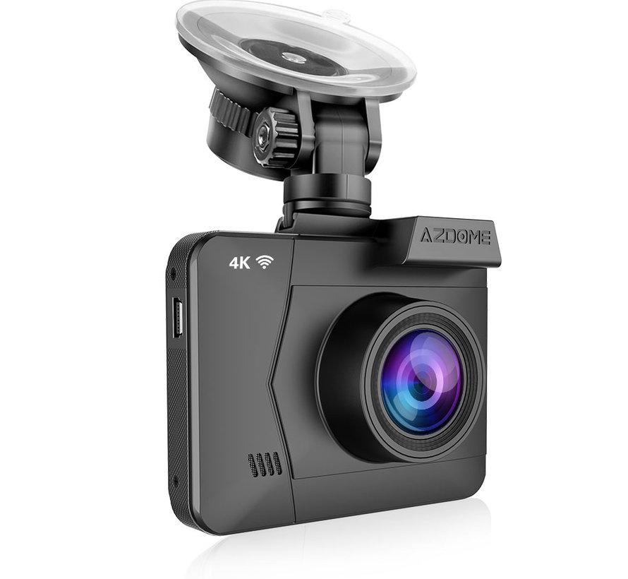 AZDome M06 4K dashcam - Continue voeding - Rear cam - 128gb