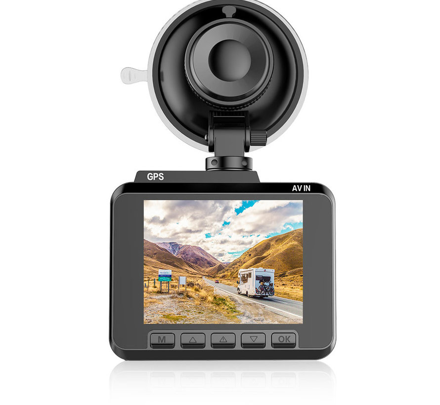 AZDome M06 4K dashcam - Continue voeding - Rear cam