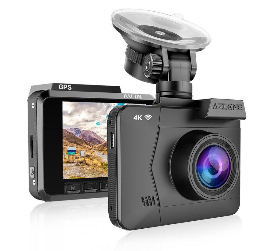 AZDome M06 4K dashcam - Continue voeding