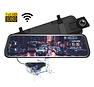AZDome AR08 2CH Full Mirror dashcam - GPS - Continue voeding - 128gb