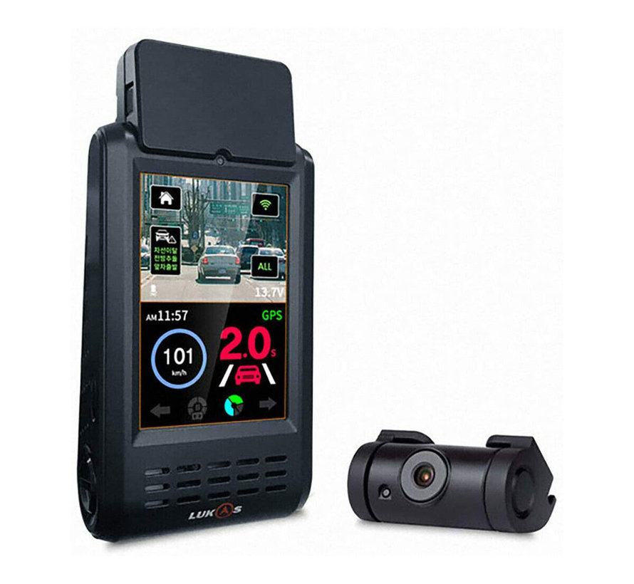 LUKAS K900 QuadHD Touch Wifi GPS 32gb dashcam
