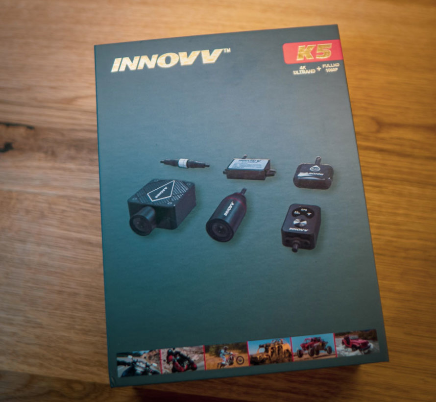 Innovv K5 True 4K 2CH Dual True 4K Wifi GPS motor dashcam