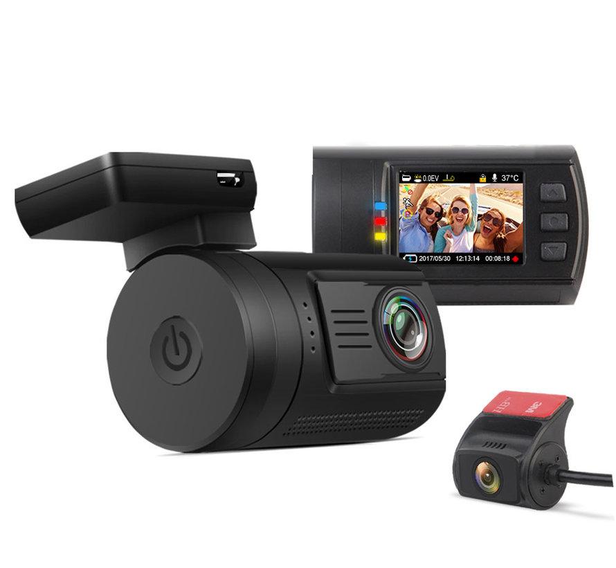Mini 0906 4K Wifi 2CH Dual GPS dashcam