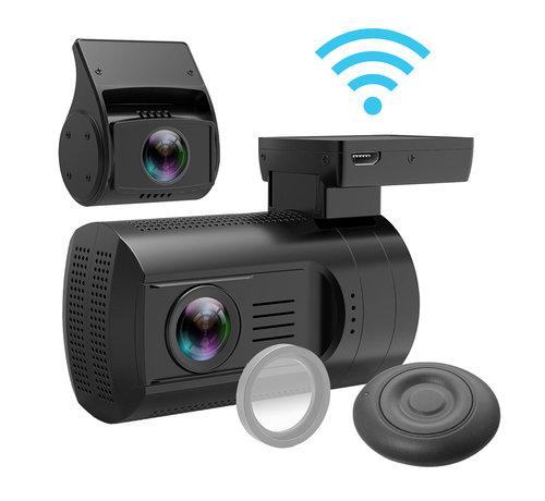 Mini Mini 0906 4K Wifi 2CH Dual GPS dashcam