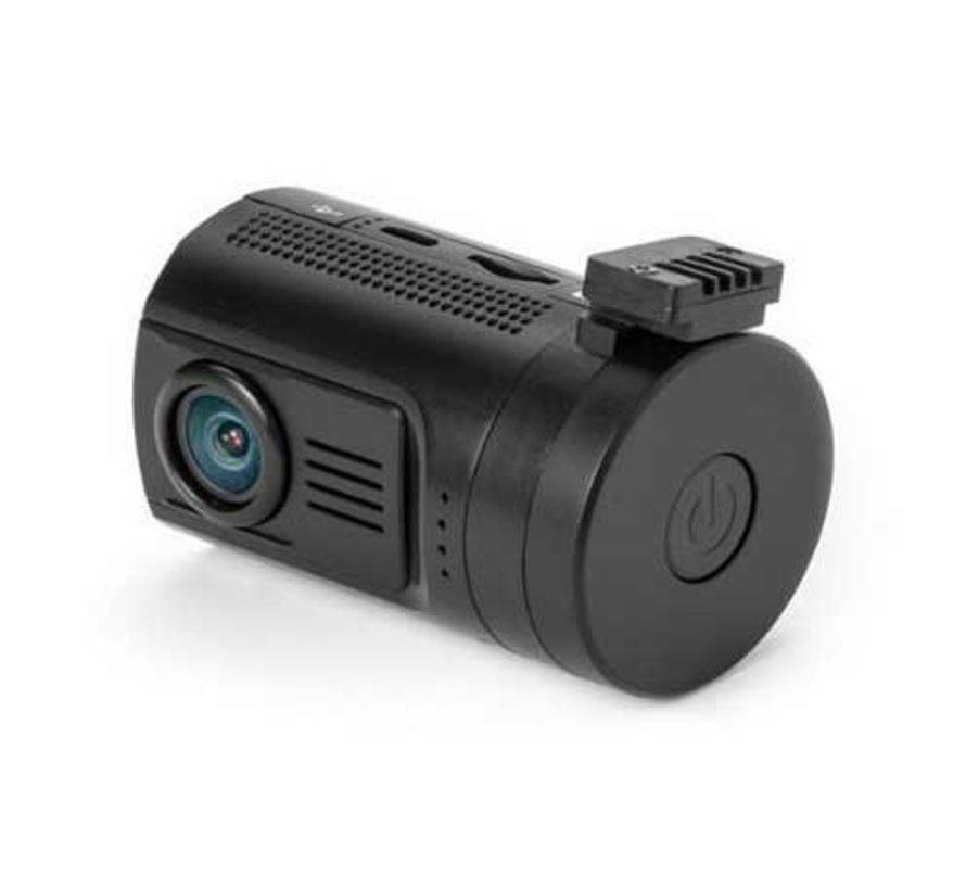 Mini 0906 4K 2CH Dual GPS dashcam - Continue voeding - 256gb