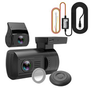 Mini Mini 0906 4K 2CH Dual GPS dashcam - Continue voeding
