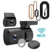 Mini Mini 0906 4K Wifi 2CH Dual GPS dashcam - Continue voeding
