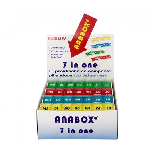Able2 Anabox display met weekbox (12st)