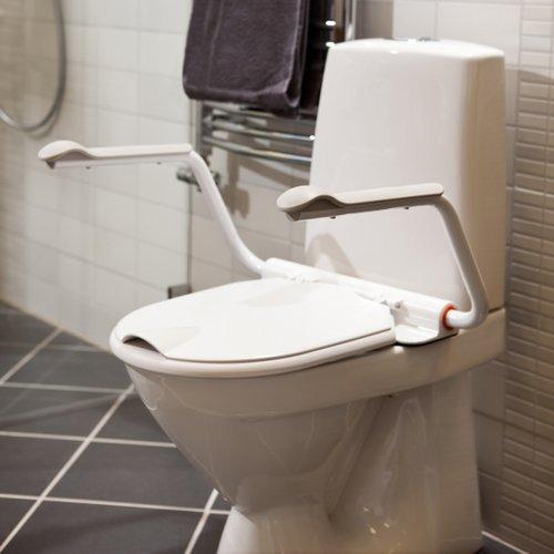 Etac Support Toiletbril met armsteunen