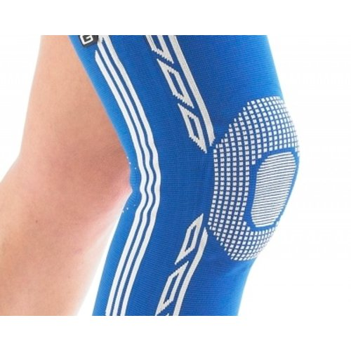 NEO G Airflow Plus stabiliserende knie ondersteuner met siliconen patella kussen