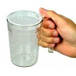 Drinkbeker Doorzichtig met handvat