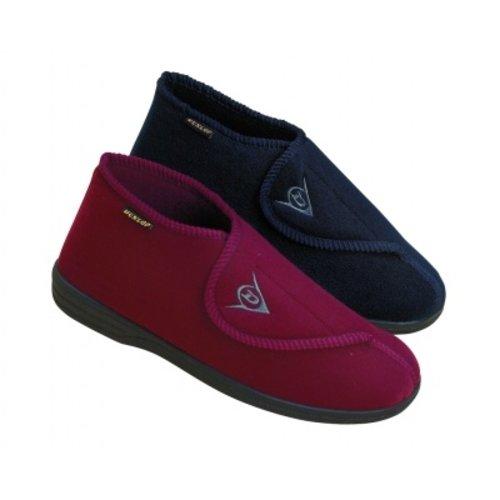 Dunlop Slippers Albert Burgundy