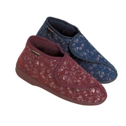Dunlop Slippers Betsy Burgundy Vrouw